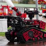 Robots Helping Fire Fighting in Water