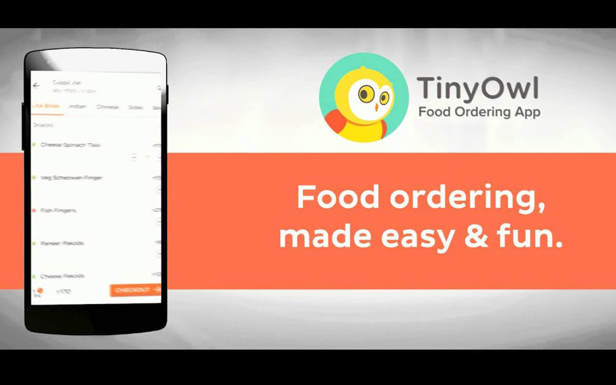 TinyOwl – The Best way to Order Food Online